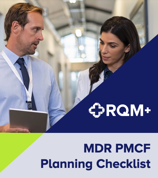 MDR PMCF Planning Checklist - Cover Image